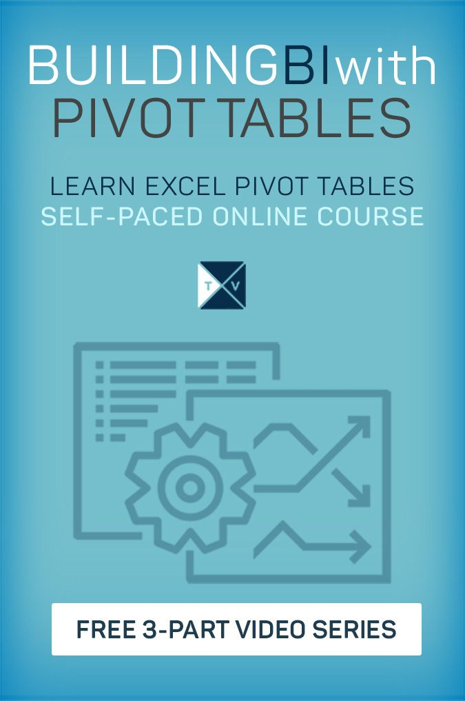 building bi with pivot tables excel pinterest pivot table and