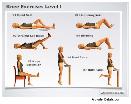 Exercise After Arthroscopy Of The Knee Hledat Googlem