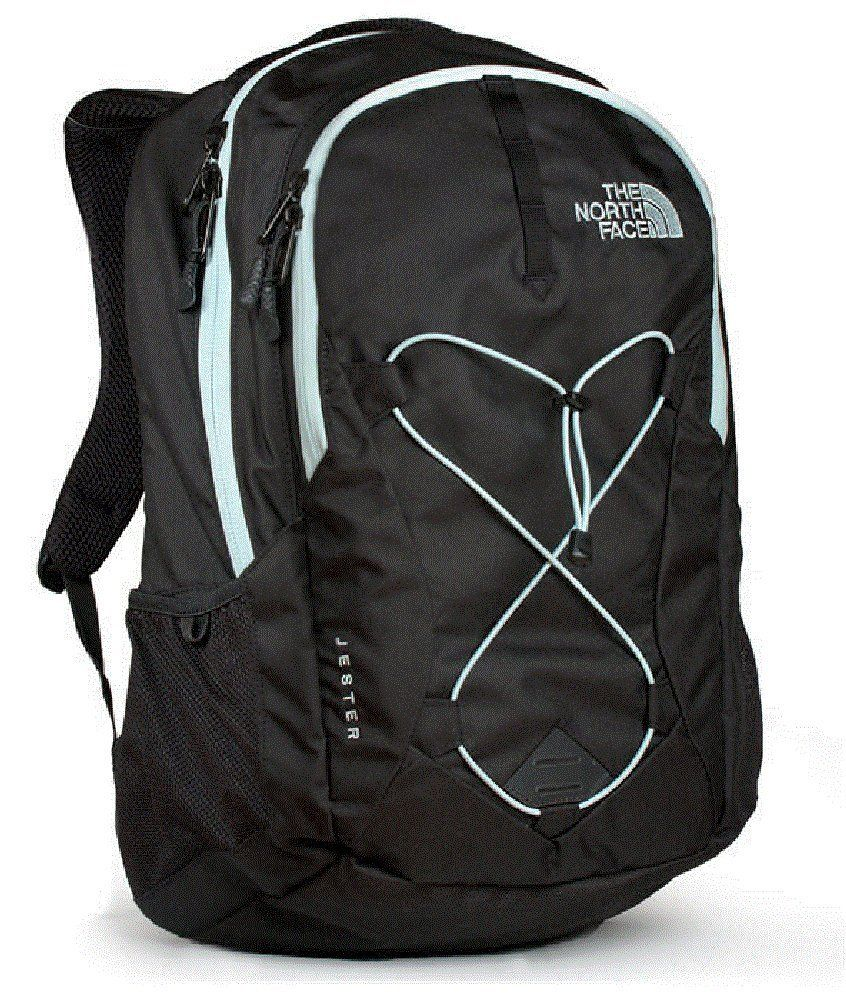 59dc89af2 The North Face Womens Jester TNF Black / Origin Blue   Camping Bags ...
