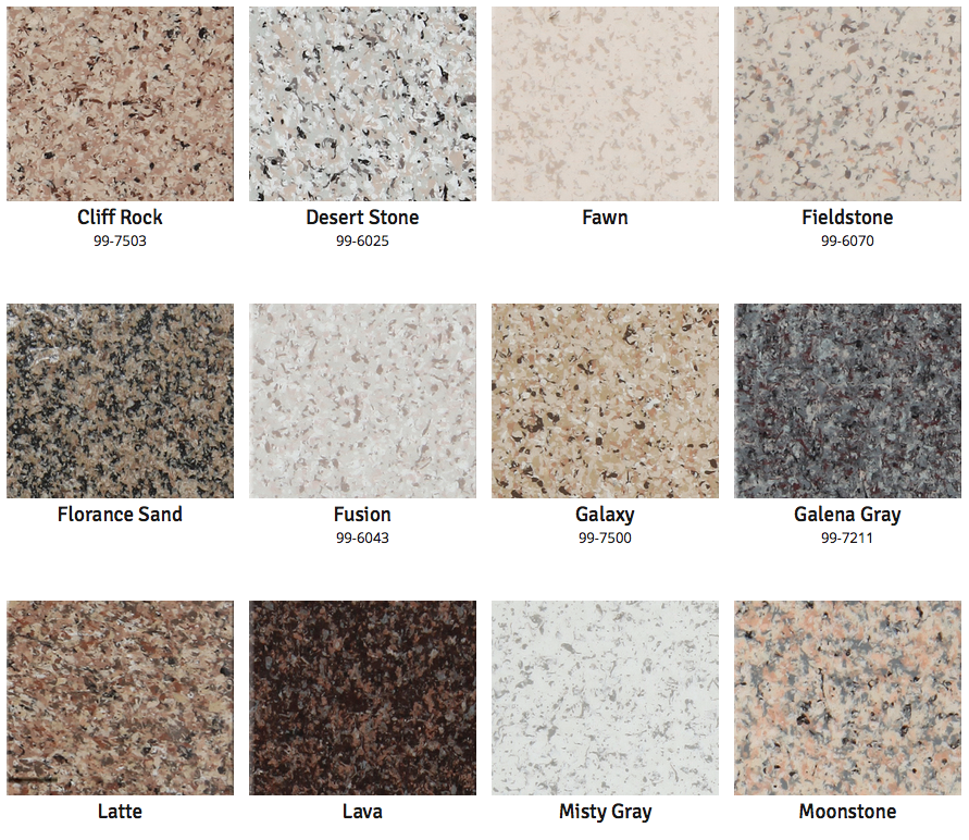 Multispec Jamison Paint Products Countertop Colours Granite