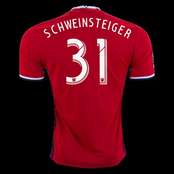 Adidas Bastian Schweinsteiger Chicago Fire Home Jersey