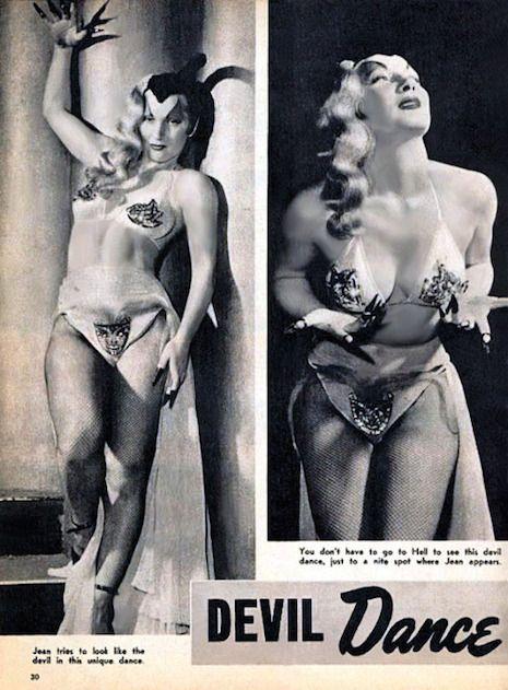 Vintage Burlesque Performers