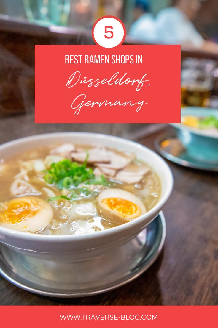 Best Asian Food In Dusseldorf Germany In 2020 Ramen Restaurant Fried Gyoza Spicy Ramen
