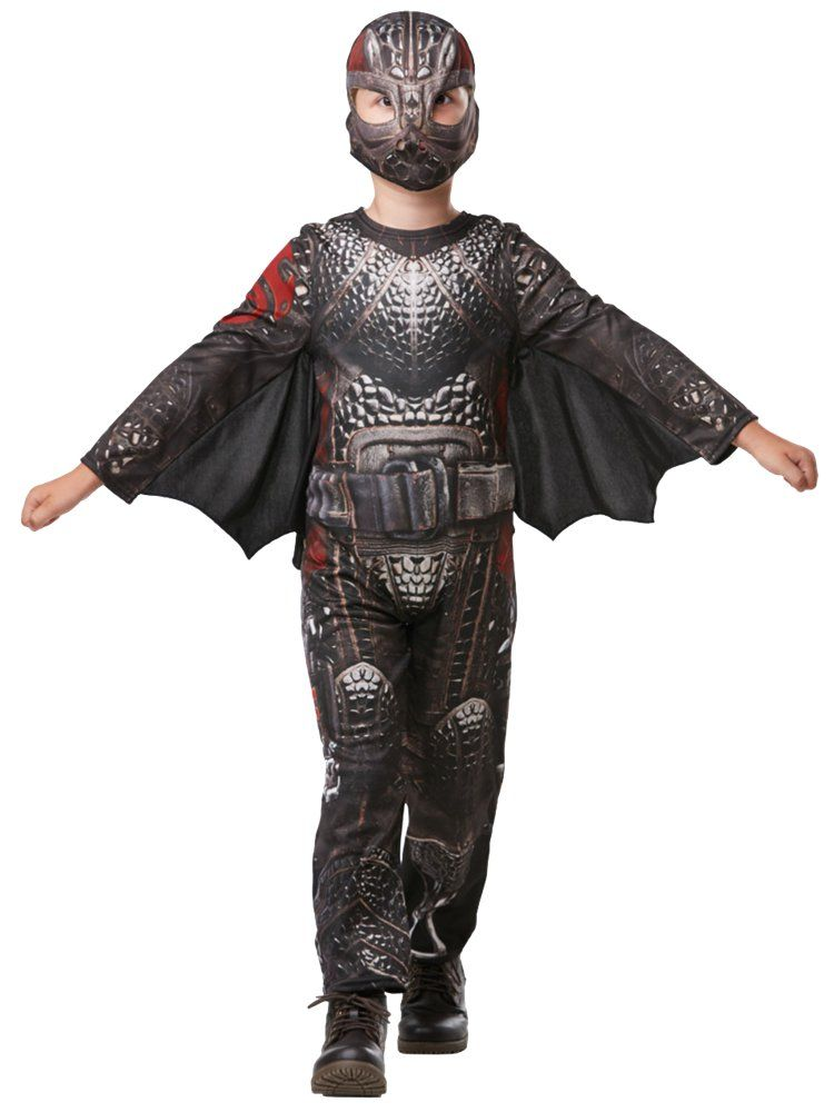 Kids Boys Official Hiccup How To Train Your Dragon Viking Fancy Dress Costume