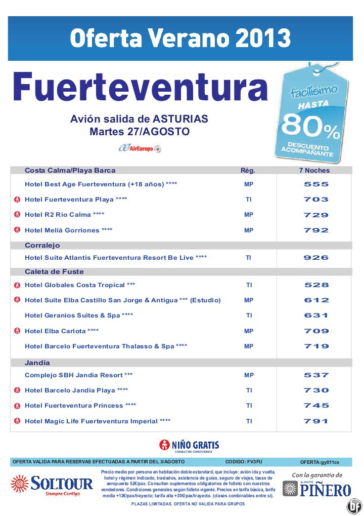 Hasta 80% hoteles en Fuerteventura salidas desde Asturias - http://zocotours.com/hasta-80-hoteles-en-fuerteventura-salidas-desde-asturias/