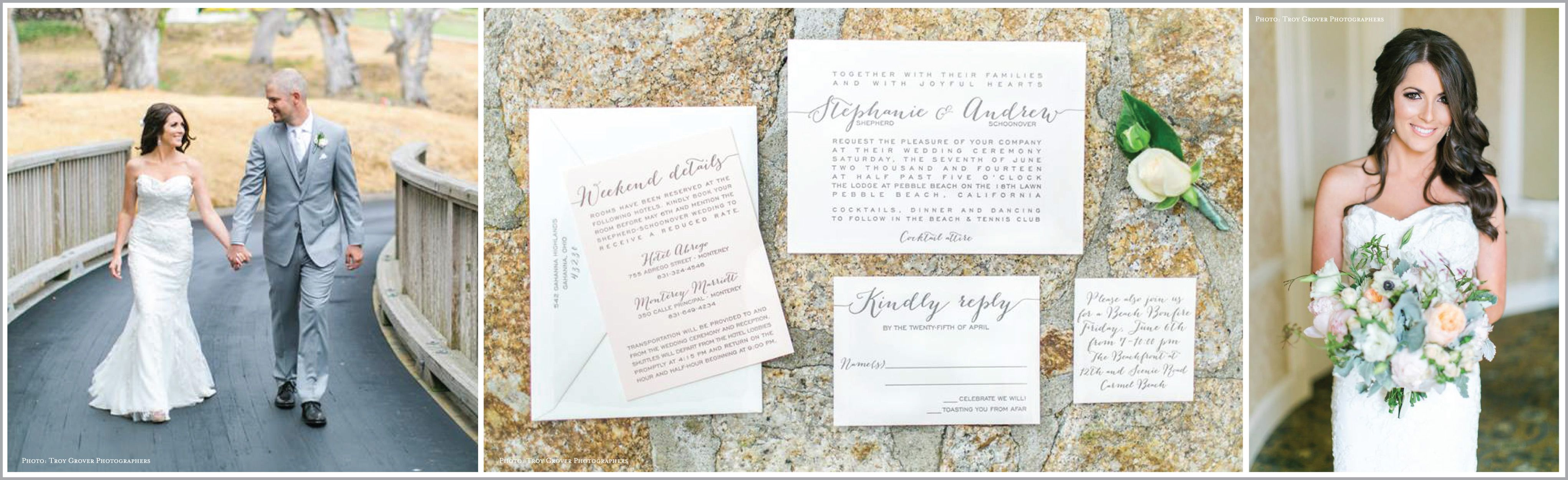 Stephanie And Andrew Photos Of The By Troy Grover Photographers Invitation  By On Paper   Columbus