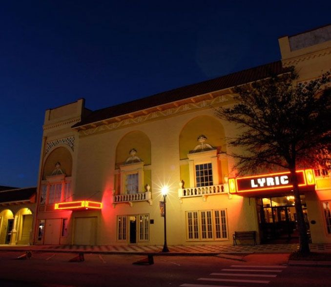 The Lyric Theatre In Stuart Fl Was Built 1926 As A Silent Movie House
