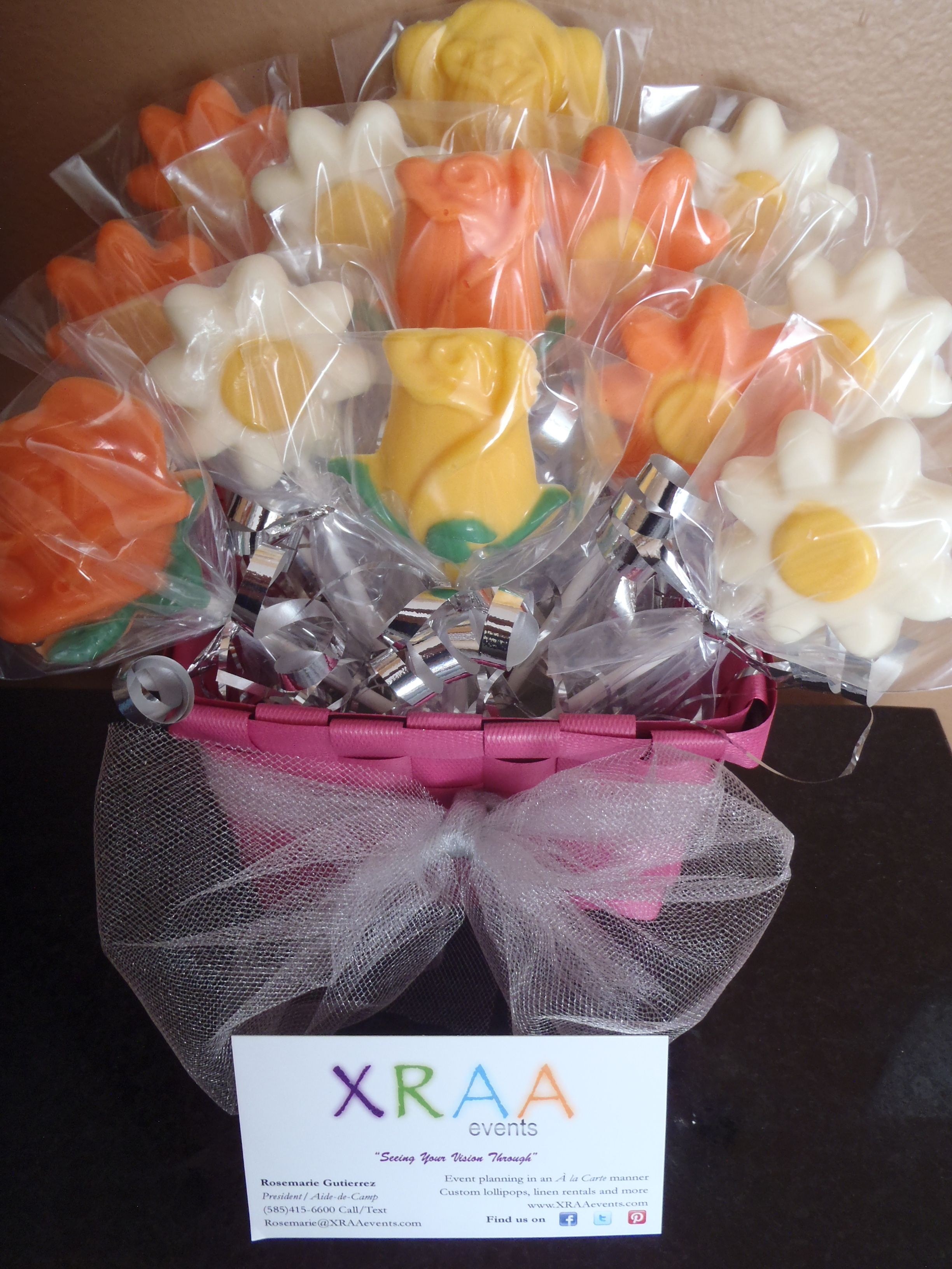 Mother\'s Day Chocolate Lollipop Bouquet by Simply Sweet Arrangements ...
