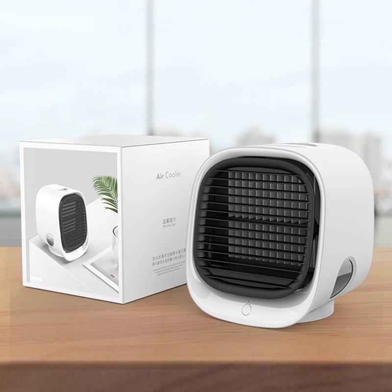 Desktop Quiet Portable Humidifier Air Conditioner With
