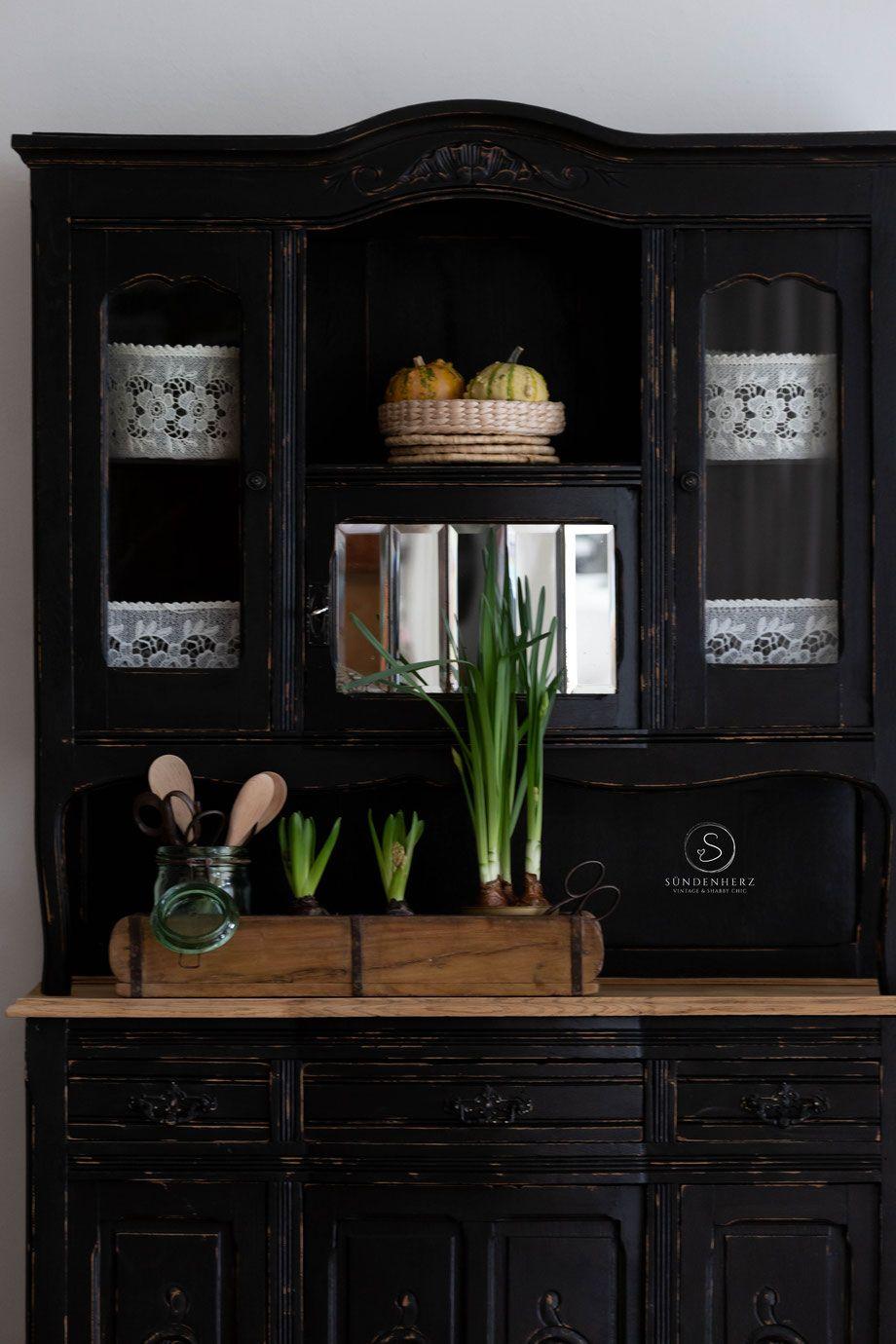 Uralter Grunderzeit Schrank Vintage Buffet Cabin Decor Decor Home