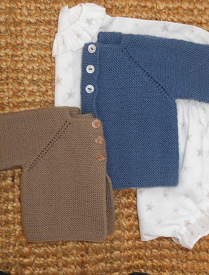 Tutorial para hacer chaqueta de beb a dos agujas tutoriales pinterest bebe tejidos bebe - Tejer chaqueta bebe 6 meses ...