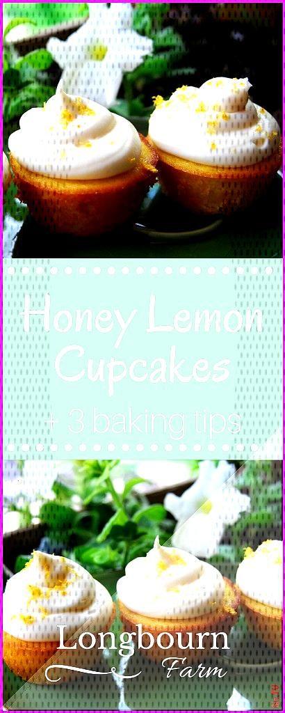 Honey Lemon Cupcakes Honey Lemon Cupcakes Vera Lauschik velamond Muffins Cookies 038 Co Simple reci