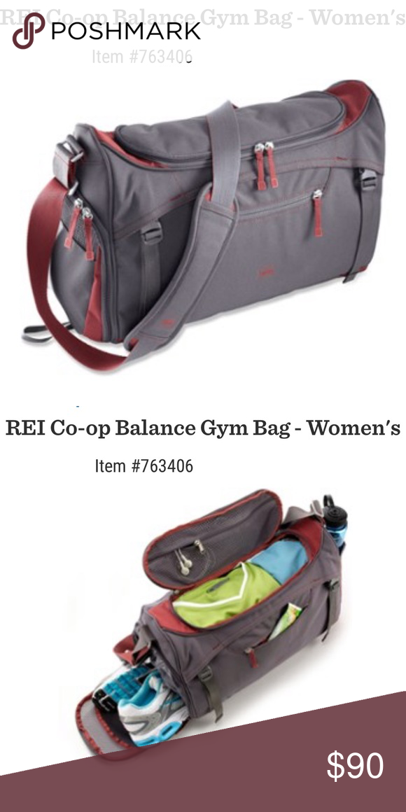 REI Co-op Balance Gym Bag Features  Large zippered opening gives you easy  access 297850f02448e