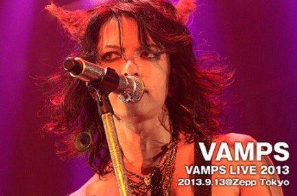 hyde VAMPS_LIVE2013_Zepp Tokyo