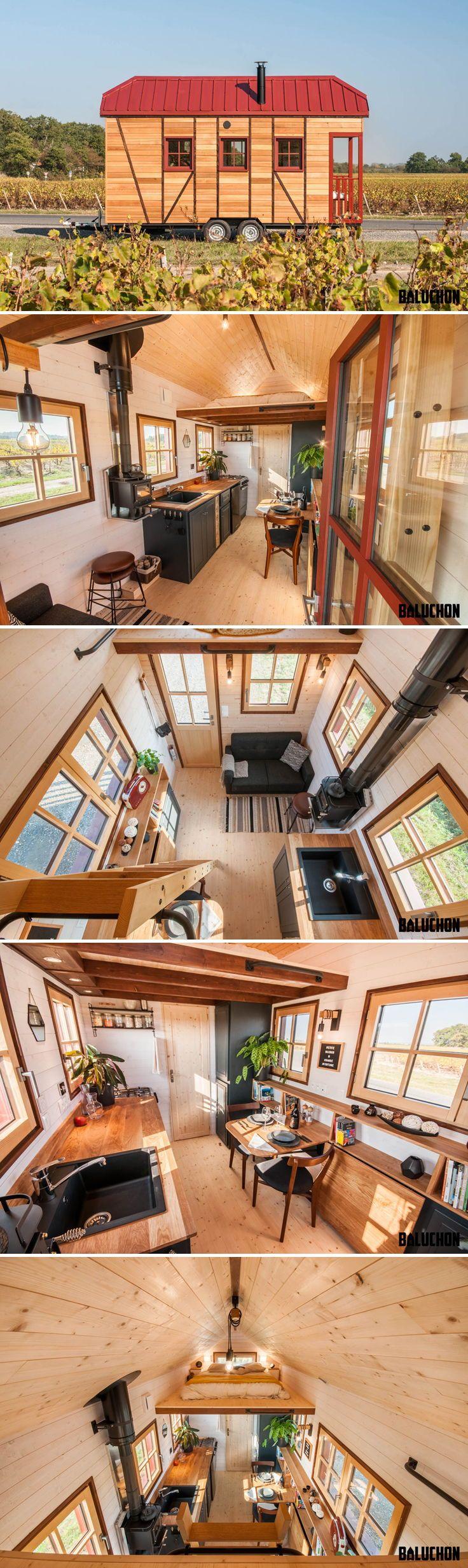 Holz Hisla by Baluchon - Tiny Living #tinyhousebathroom