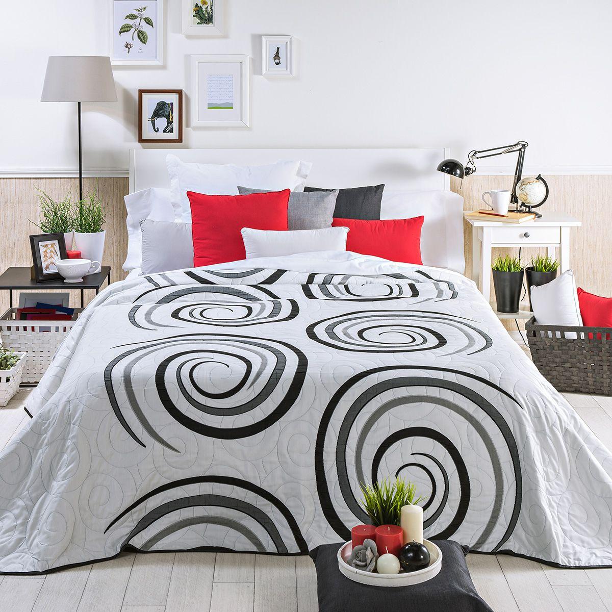 Colcha moderna selin morada colchas pinterest salvador - Colchas de cama modernas ...