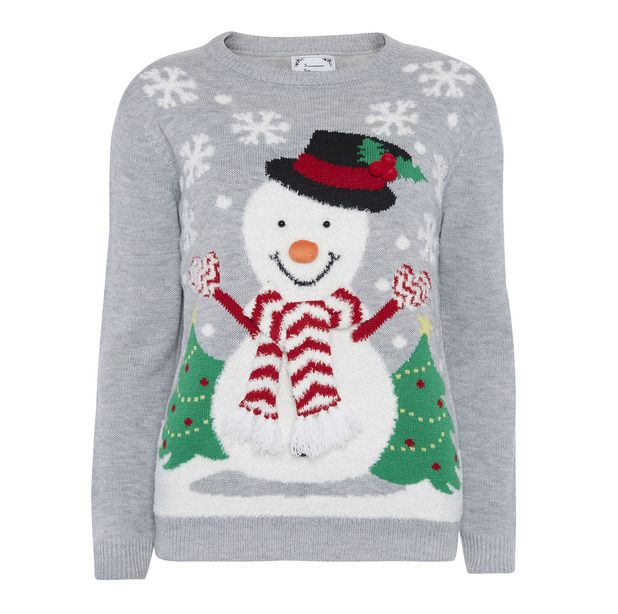 Snowman Christmas Jumper Primark - High street Christmas jumpers ...