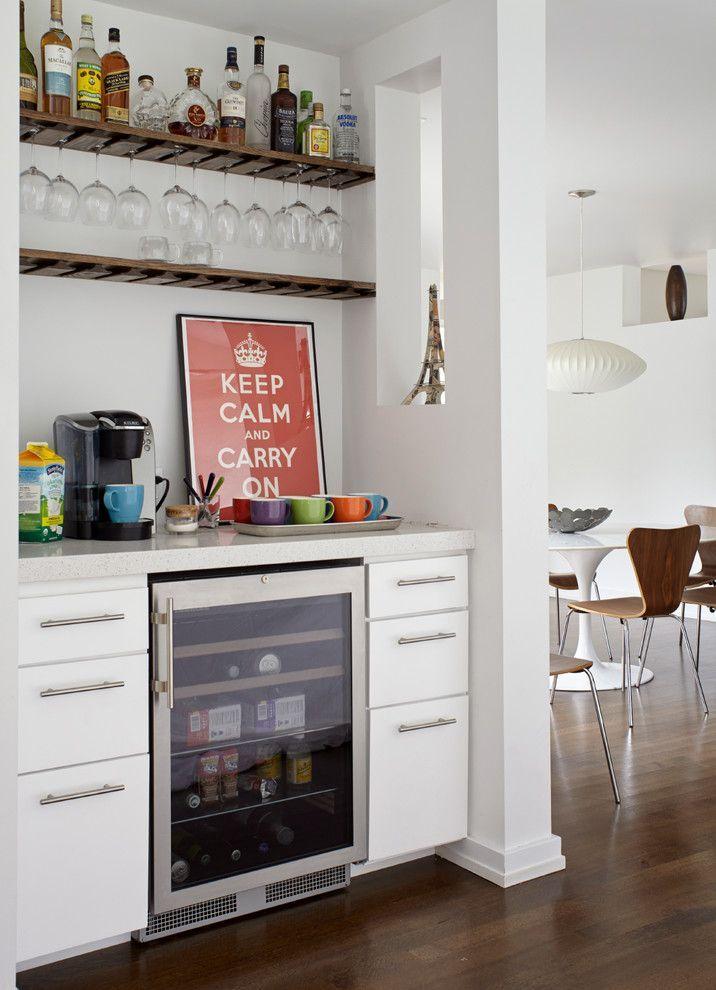 The Coolest Coffee Bar Table Idea