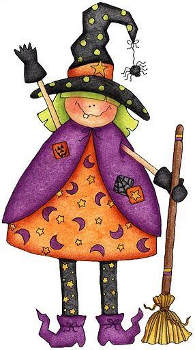 witch.quenalbertini: Cute halloween witch | Halloweenie ...