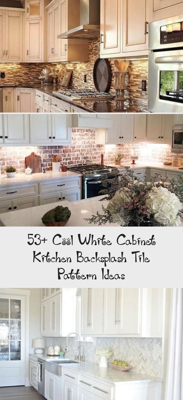 53 cool white kitchen backsplash tile pattern