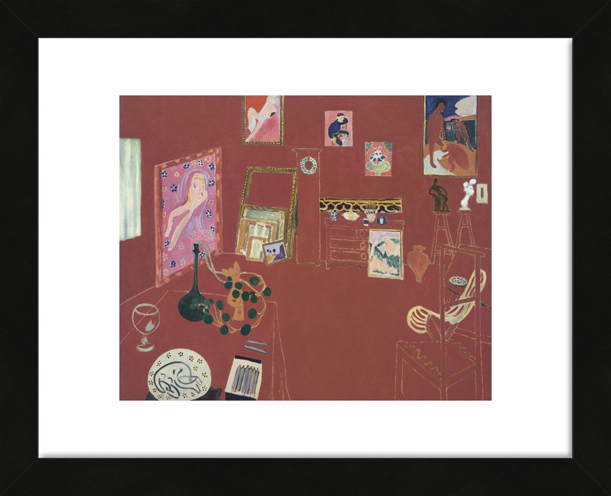 The Studio by Matisse Framed Print | Products | Pinterest
