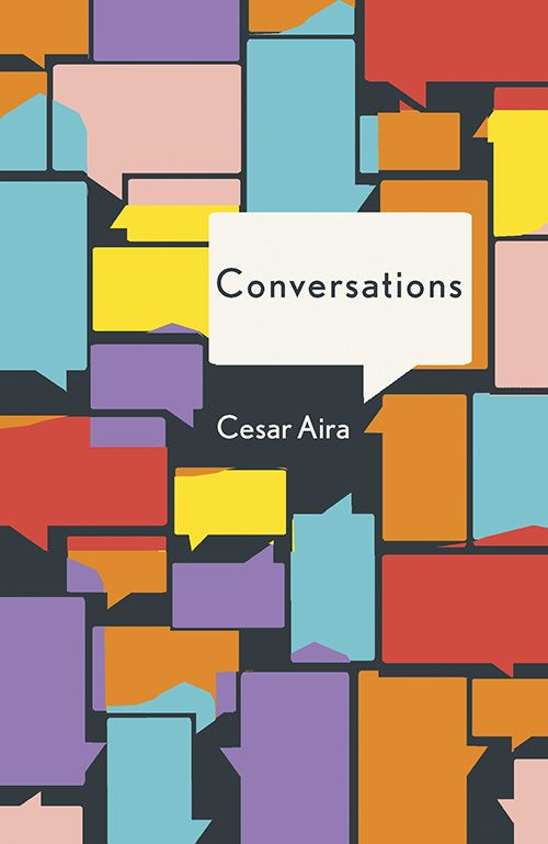 Cool poster of conversations. colours relating to feelings brought out through conversation. annotated by Lisa Di Camillo