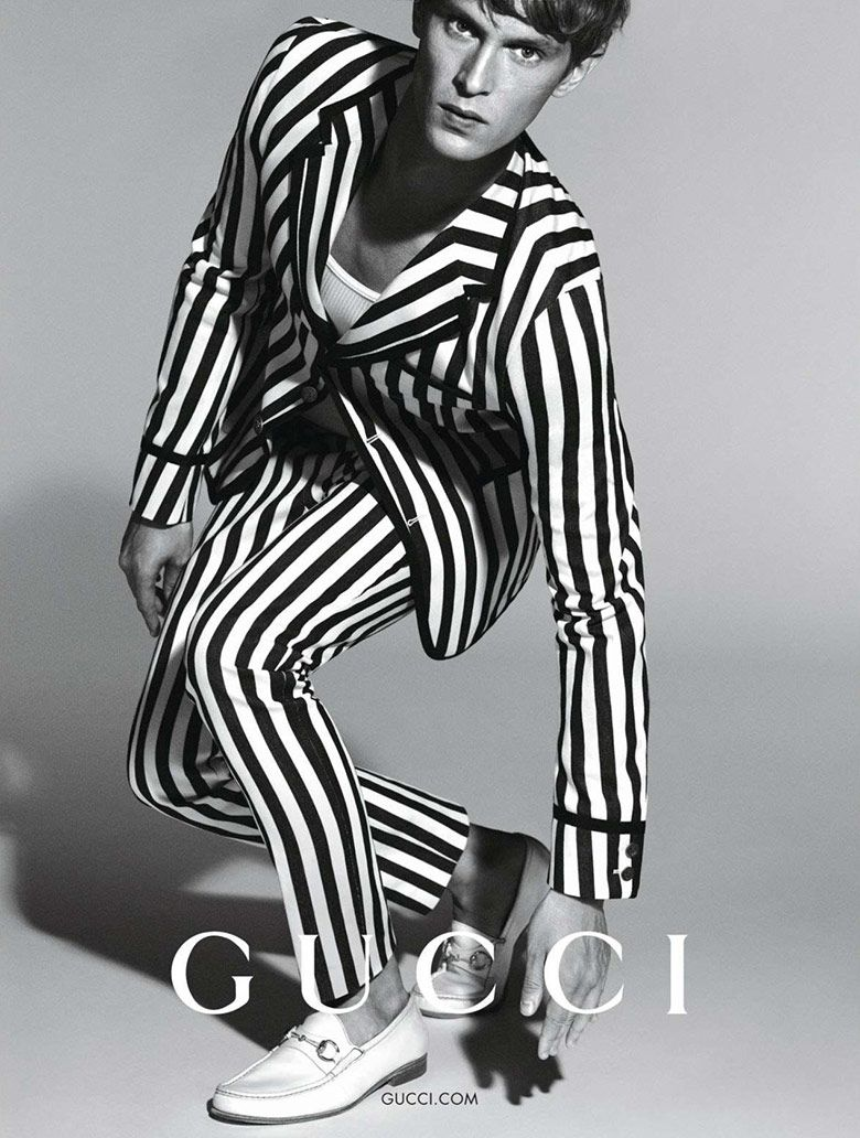 Mathias Lauridsen for Gucci Menswear S/S 2015 | The Fashionography