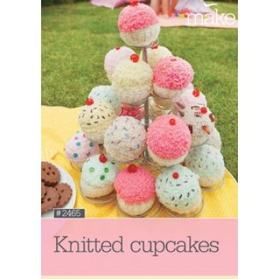 Knitted Cupcakes #2465 - Accessories | Knit cupcake, Book ...