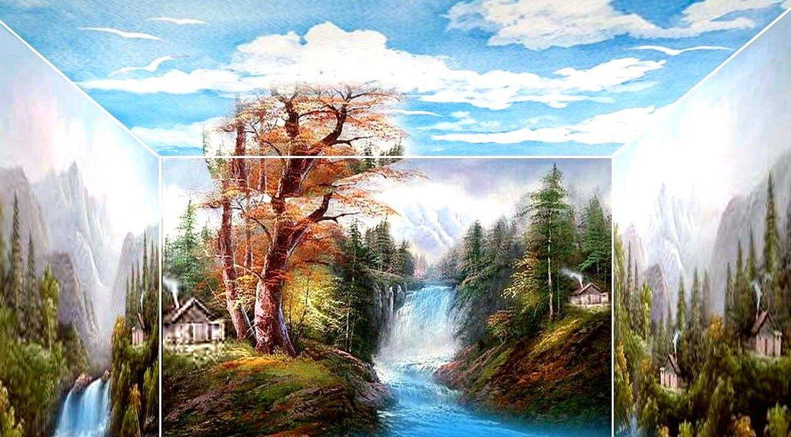 Terbaru 30 Contoh Gambar Pemandangan Alam 3 Dimensi Gambar 3 Dimensi Gambar 3d Gambar 34 Provinsi Gambar 3 Dimensi Gambar 3 Some Gamba Painting Art Waterfall