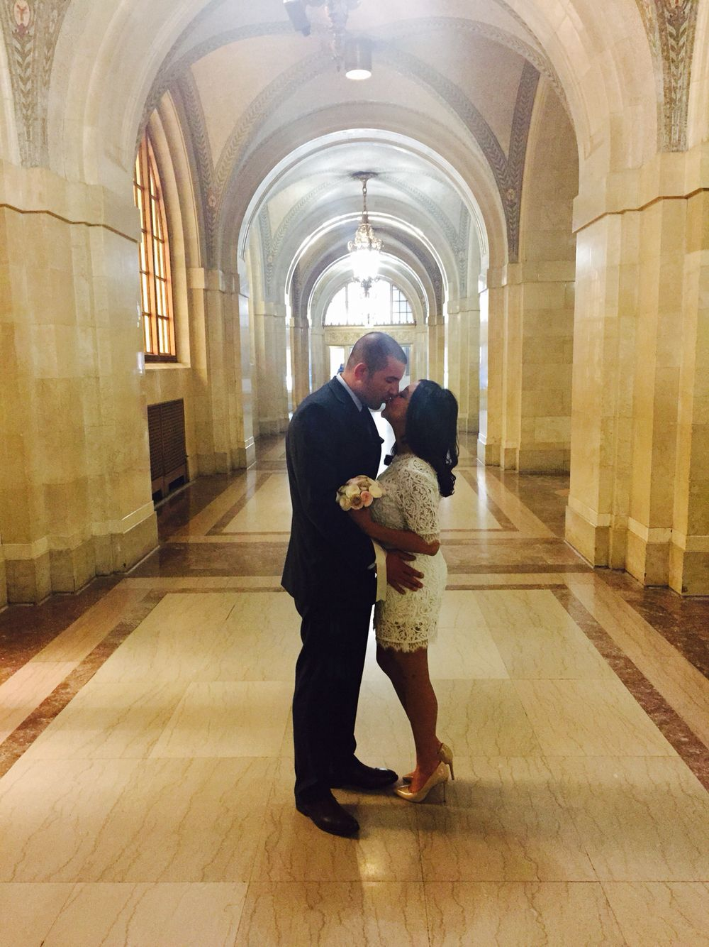 Chicago City Hall: I married the love of my life❤️