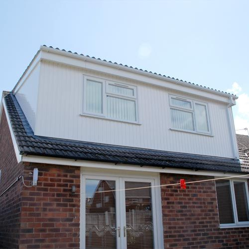 Bungalow Attic Conversion: Example Of Dormer Roof Loft Conversion, Home Extensions In Cheshire