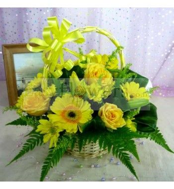 Send a message of cheer with this gorgeous bunch soothe your send a message of cheer with this gorgeous bunch soothe your colleague friend or family with these brilliant yellow flowers mightylinksfo