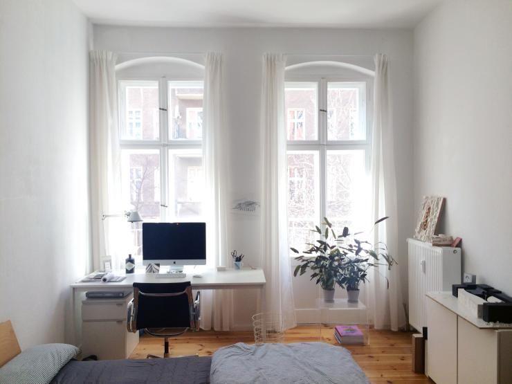Schönes großes Zimmer in sanierter Altbauwohnung in Fhain zur ...