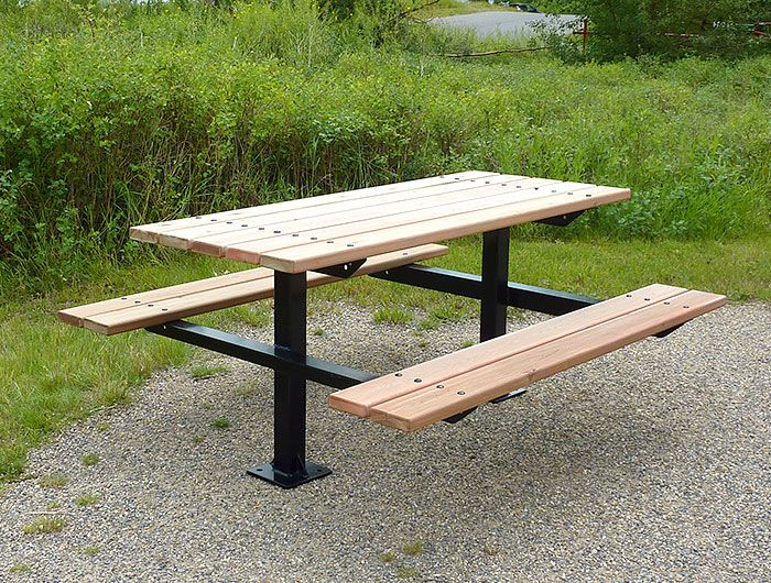 Park Picnic Table Google Search Park Seating Pinterest - Park picnic table dimensions