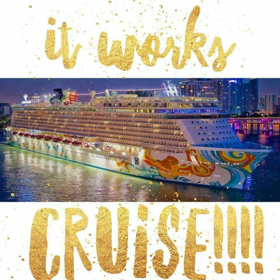 😃I don't even care that tomorrow is Monday!!! I am so pumped up right now - I can't even describe it!!!!  🚀If you have thought about starting this adventure with me, NOW IS THE TIME!!! $500 Ruby Bonus. Earn points ON.A.CRUISE😱😍  🌟WHAT THE WHAT?! Yeah I really just said THAT. I have NEVER been on a cruise EVER!!! HAVE YOU?!🌟    😎SNAP. Let's get CRUISING to your SPOT!!🏖🛳  www.cheritworks.itworks.com cheritworks@gmail.com