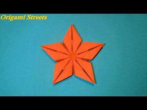Photo of wie man aus Papier einen Stern macht. Origami-Stern