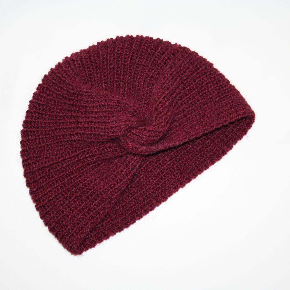 huguette paillettes tricot bonnet turban huguette prune 1 tricots pinterest tricot bonnet. Black Bedroom Furniture Sets. Home Design Ideas