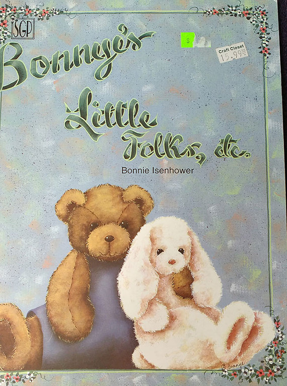 Bonnyes Little Folks Tole Painting Pattern Book By Thehowlinghag