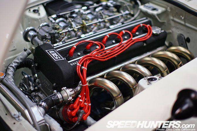 OS GIken TC24-B1 head equipped   L-series engine
