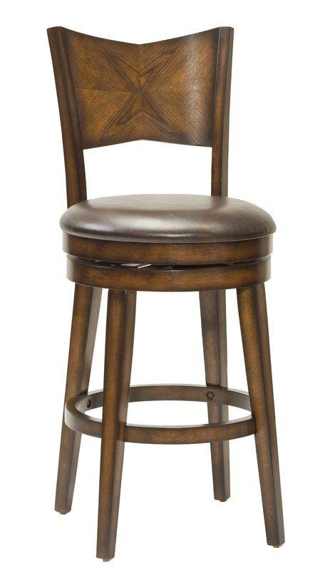 Burch Bar Counter Stool Rustic Bar Stools Swivel Bar Stools