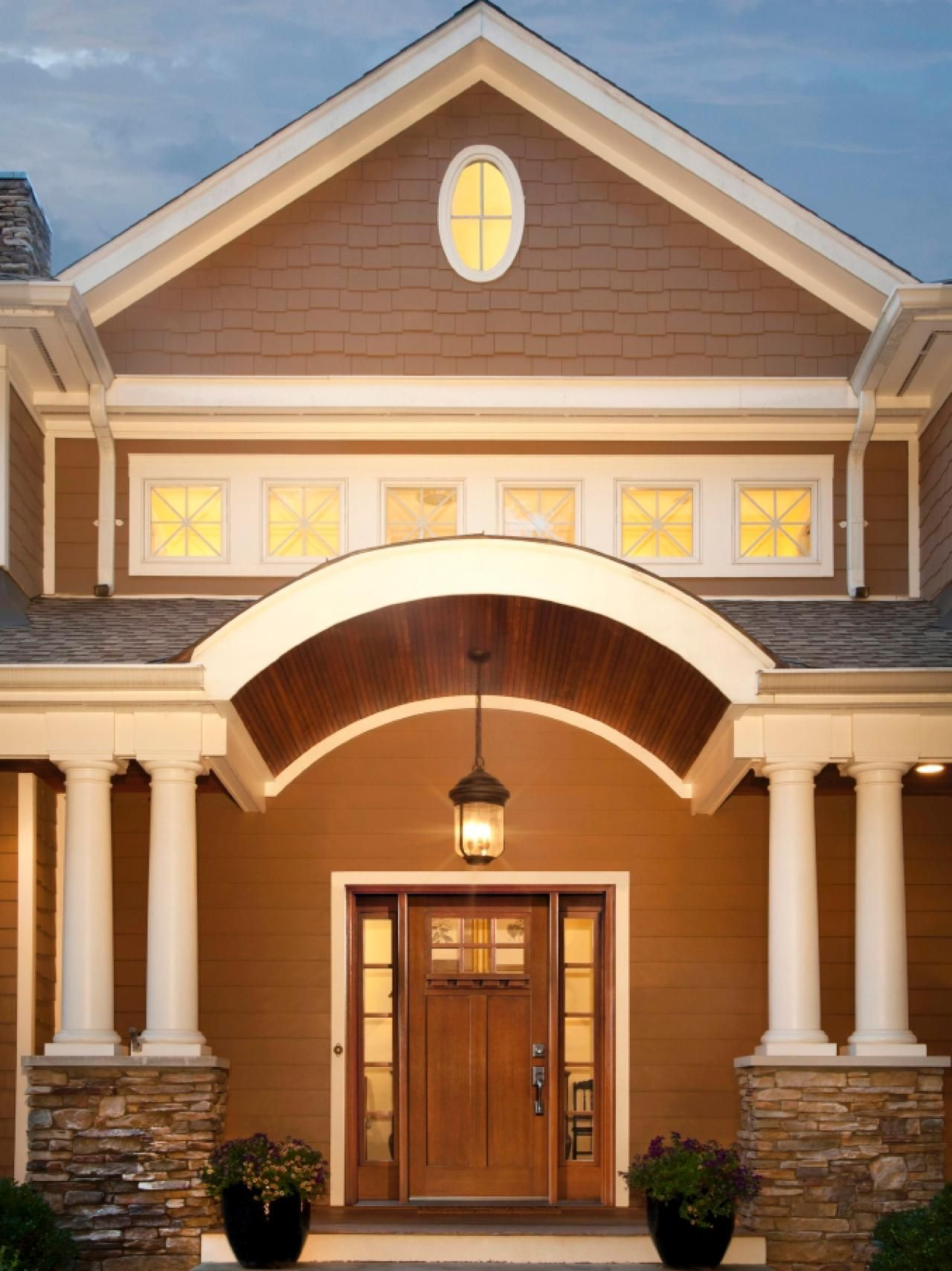 Exterior design for home   Stunning Entryways and Front Door Designs  Front door design