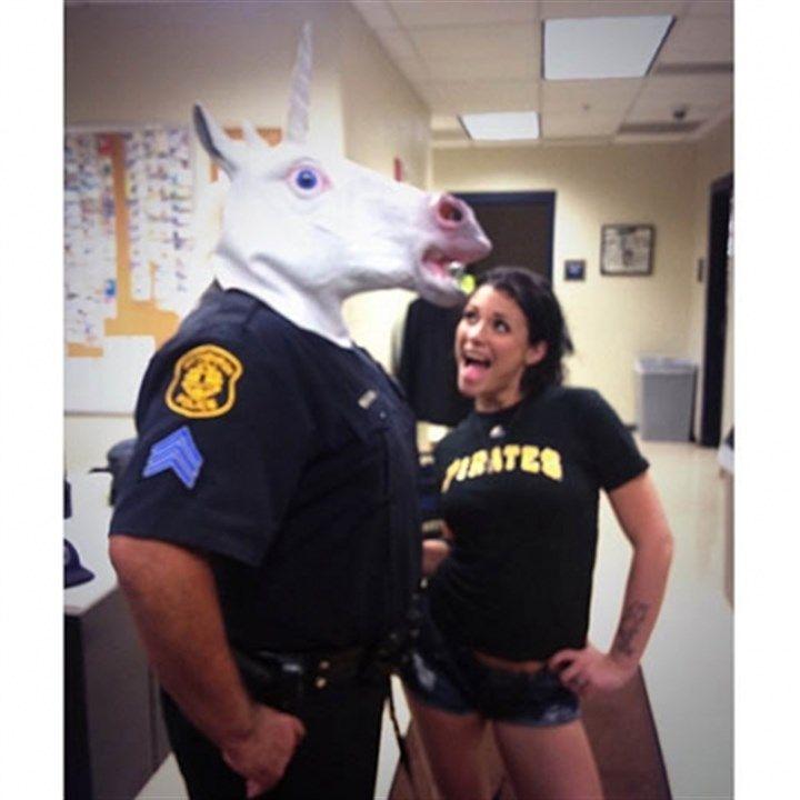 police officer porn star