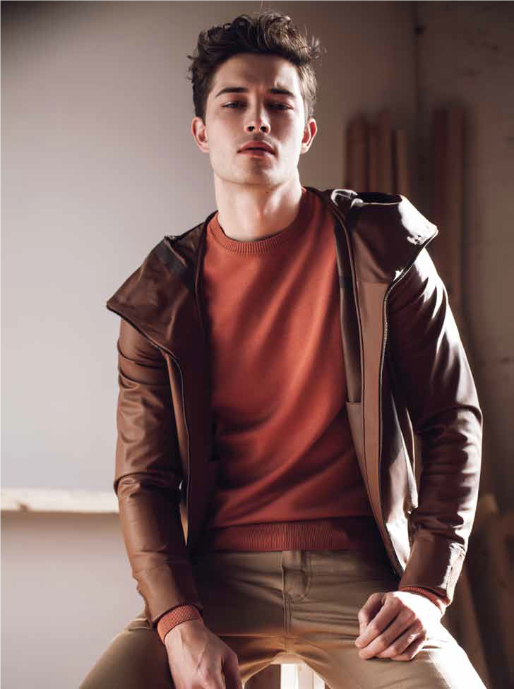 Francisco Lachowski Manifesto Magazine Issue 42 Francisco Lachowski Photographed By Brent Chua For The Boys Leather Jacket Leather Jacket Leather Jacket Men