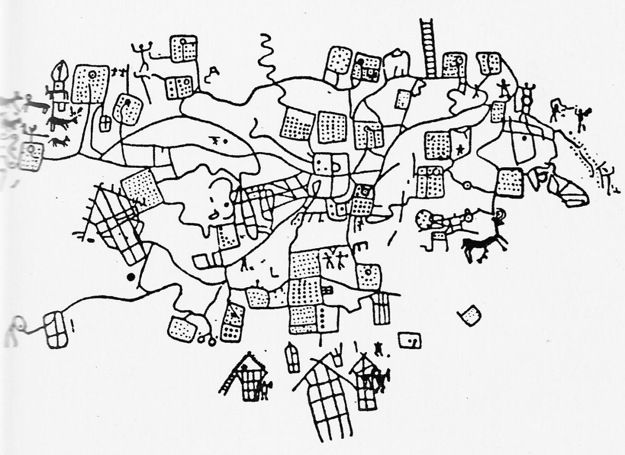 urbain   u201c bedolina map  iron age   valcamonica  italy  bijgewerkt om het duidelijker te zien