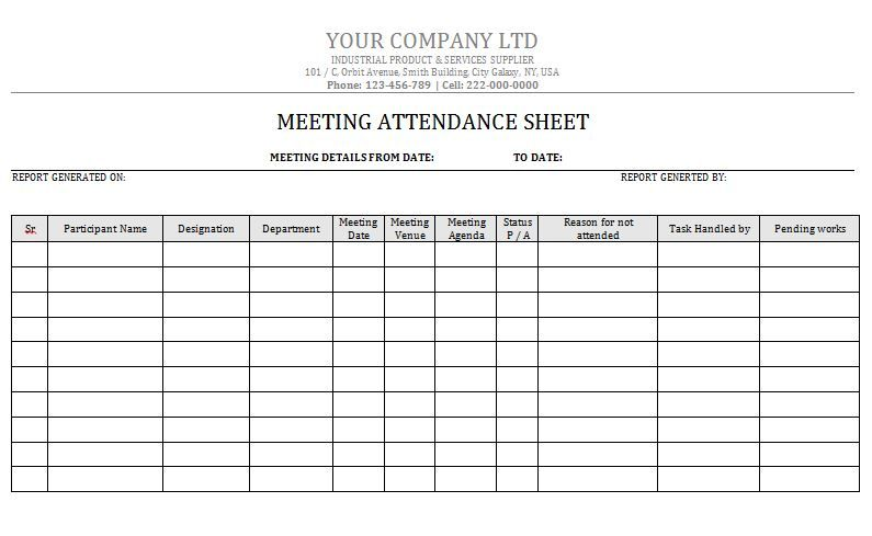 This flight attendant job description template is optimized for posting on online job boards or careers pages and is easy to customize for your company. Attendance Sheet 05 Attendance Sheet Template Attendance Sheet Attendance Chart
