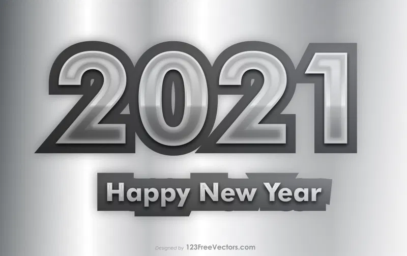 Free Grey New Year Background 2021 New Years Background Happy New Year Images New Year Images