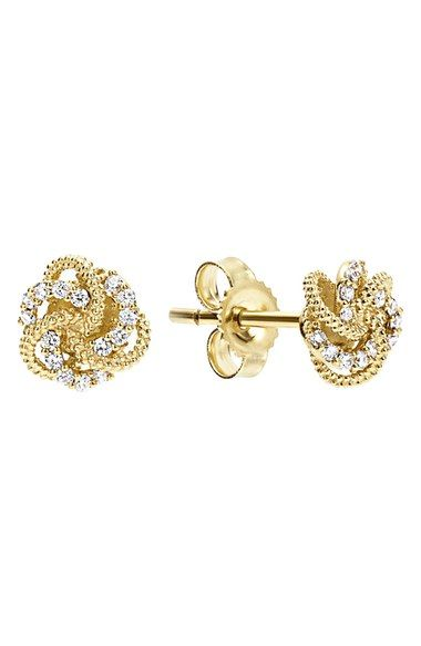 LAGOS 'Love Knot' Stud Earrings available at #Nordstrom