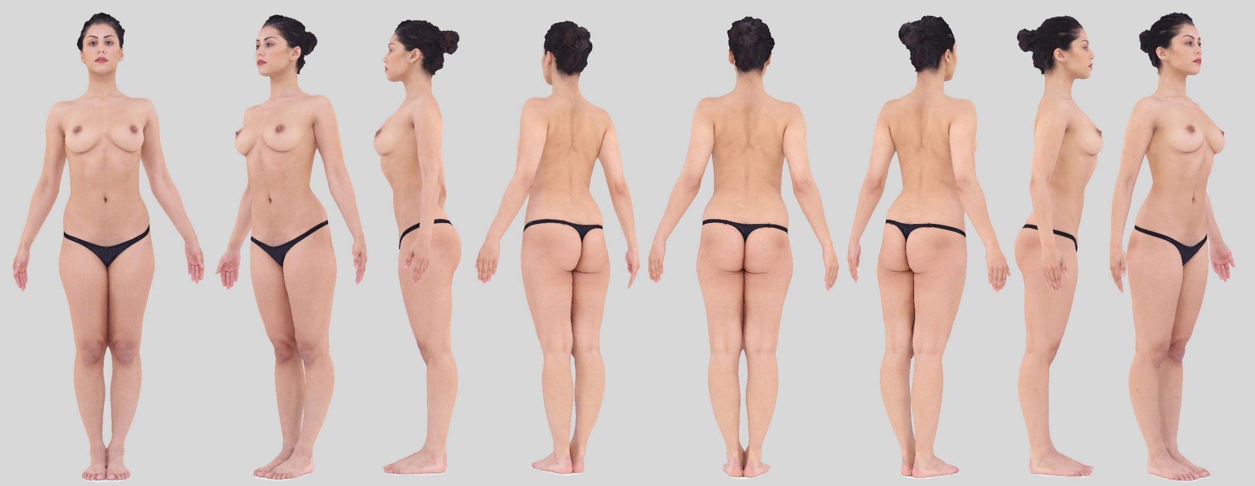 Athena³ Standing Pose001 - 3D Scans   Anatomy   Pinterest   Anatomy ...
