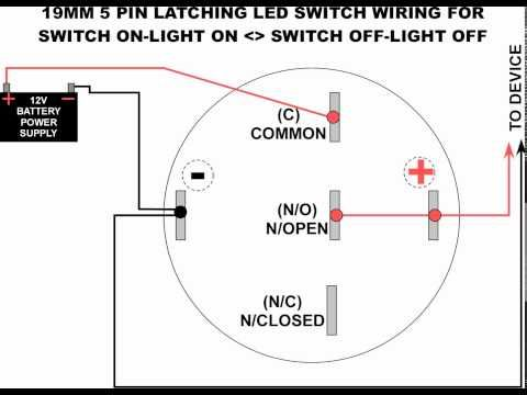 Latching 1no 1nc Switch Wiring Google Search Wiring A Plug Wire Diagram