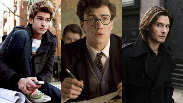 Andrew Garfield as Remus Lupin; Aaron Johnson as James ...Young James Potter Scene